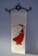 Christmas bell pull