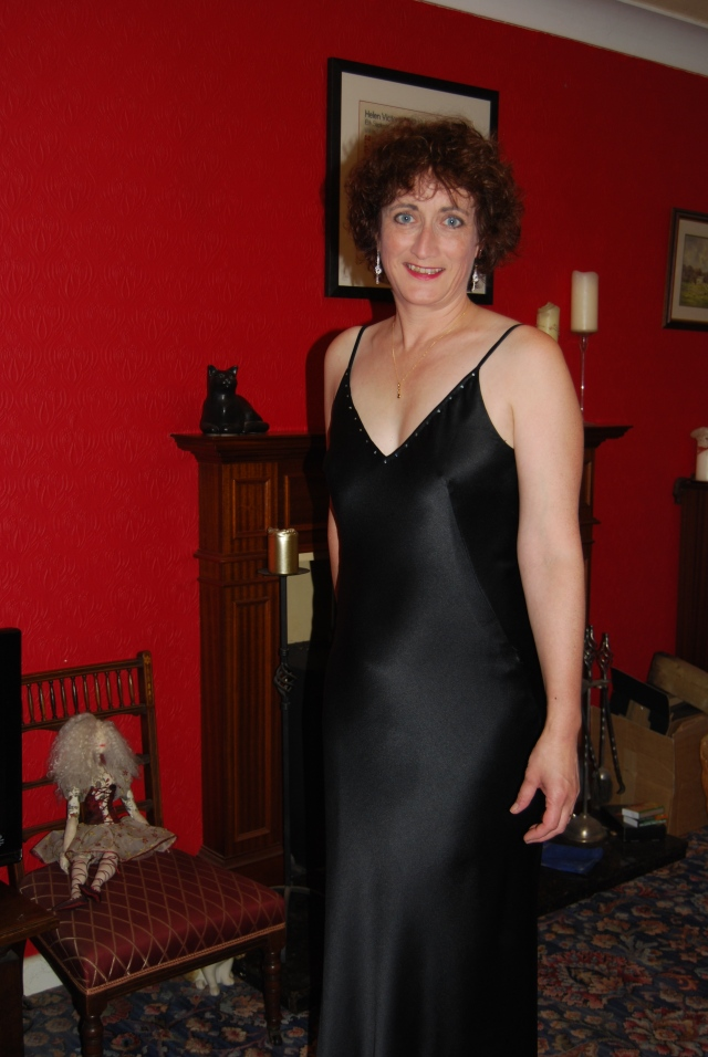 Claire Shaeffer Couture Dress