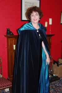 Velvet cape