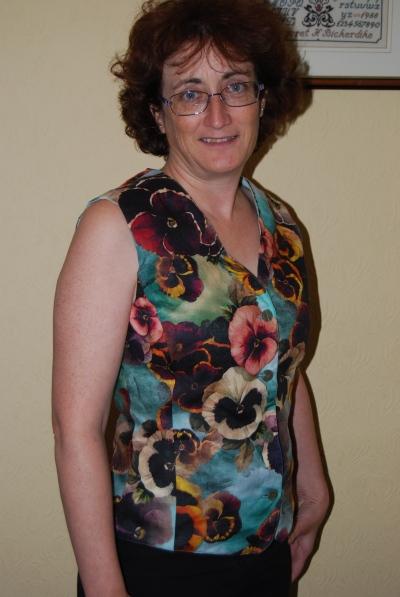Pansy waistcoat top