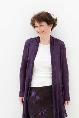 Wearing purple!