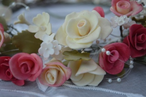 Wedding Cke Flowers