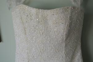 Swarovski Crystals on bodice