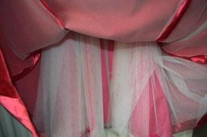 Interlining and underskirt