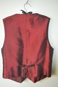 Waistcoat back