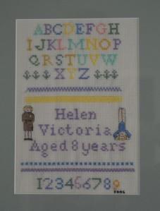 Cross-stitch Sampler