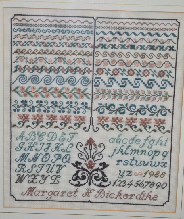 Just Cross-stitch Sampler