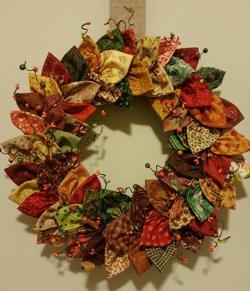 Xmas Rag Wreath
