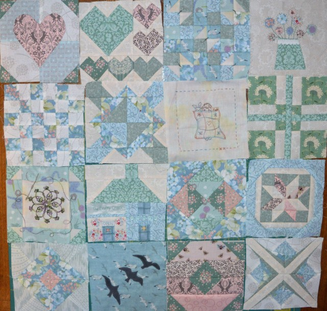 Splendid Sampler Blocks so far!