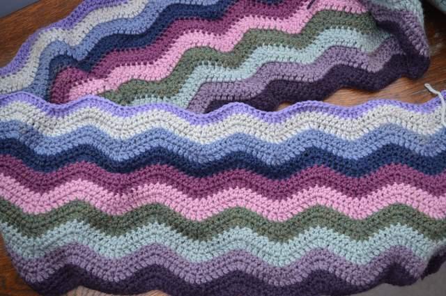 Moorland Ripple Blanket