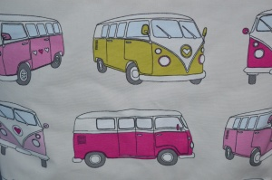 VW Camper Van Fabric
