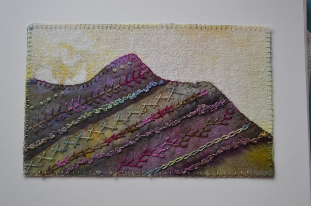 Catbells embroidery