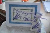 Lavender Card & Sachet