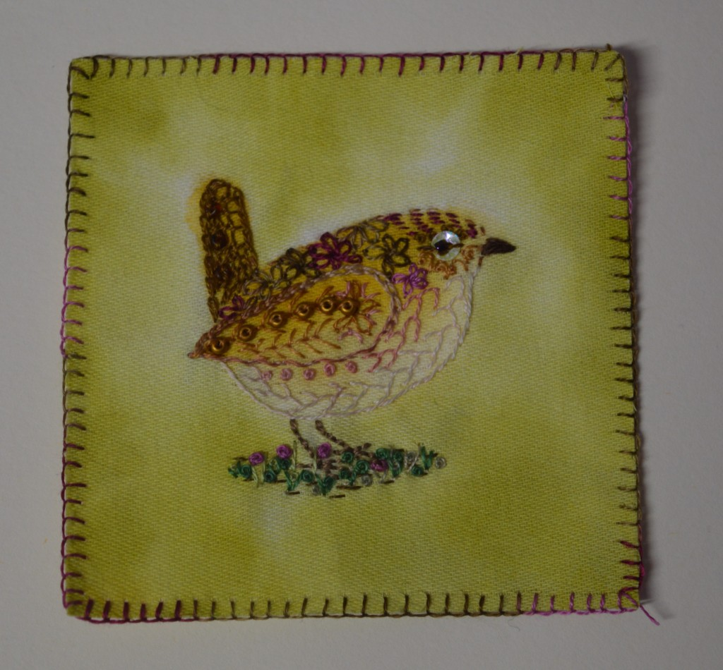 Wren Embroidery