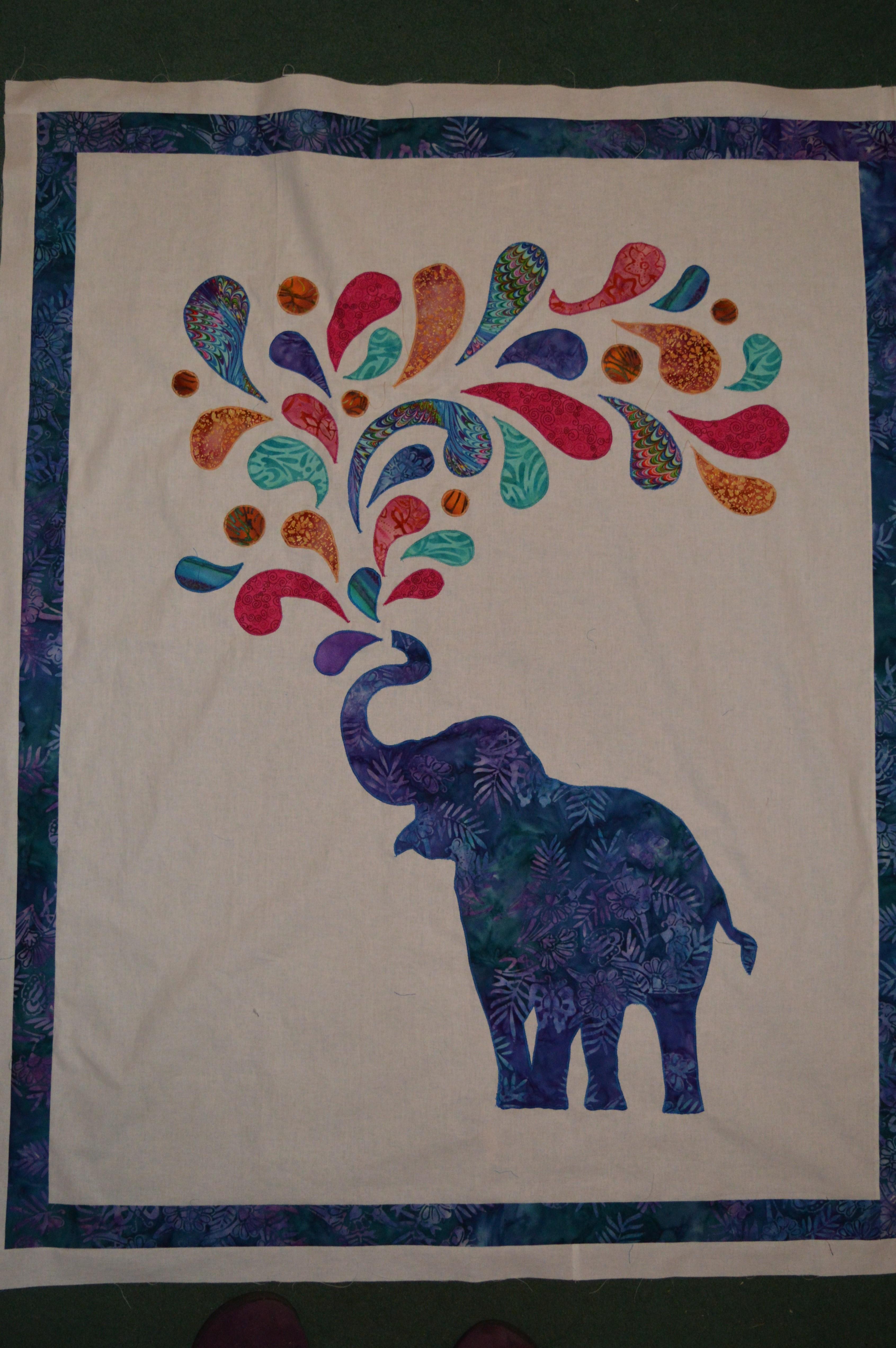Paisley Elephant Quilt Thecraftycreek