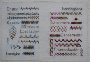 TAST stitch dictionary
