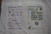 Stitch Sampler Book