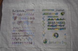 Stitch Sampler Book