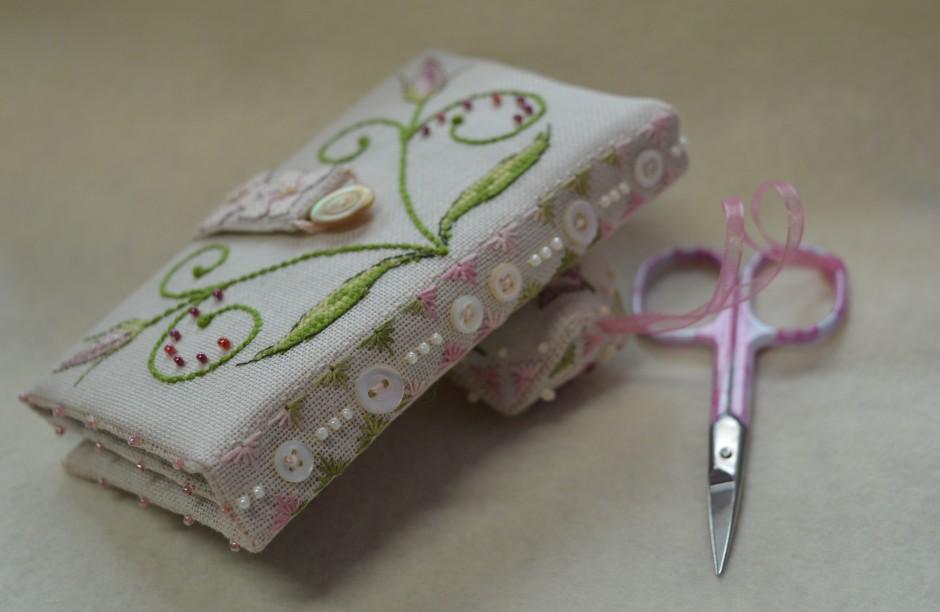 Lizzie Stitching Wallet