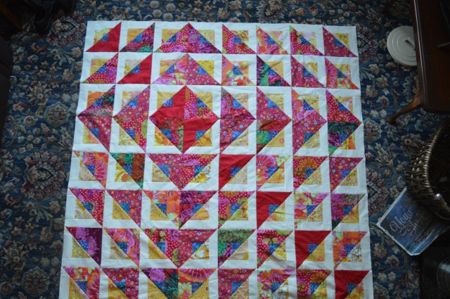 Kaffe Fassett Quilt Radiant quilt pattern