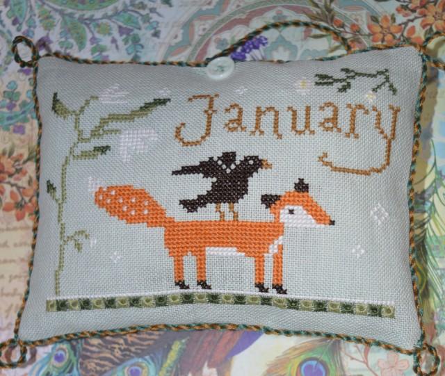 Joyfulworld January from Snowflake Diaries