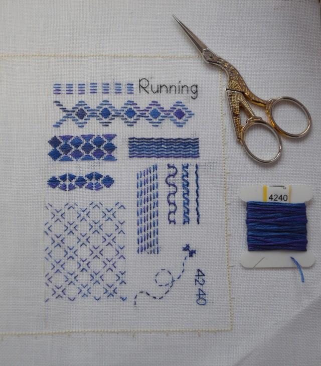 Beyond TAST Running Stitch