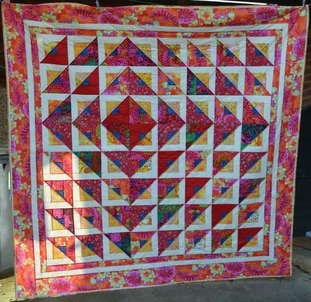 Radiant Quilt in Kaffe Fassett Fabrics