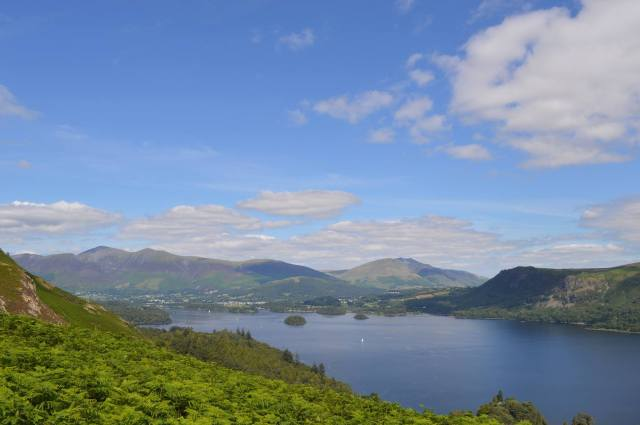 View over Derwentwater from Catbells