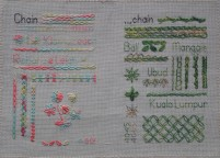 Stitch Sampler; www.thecraftycreek