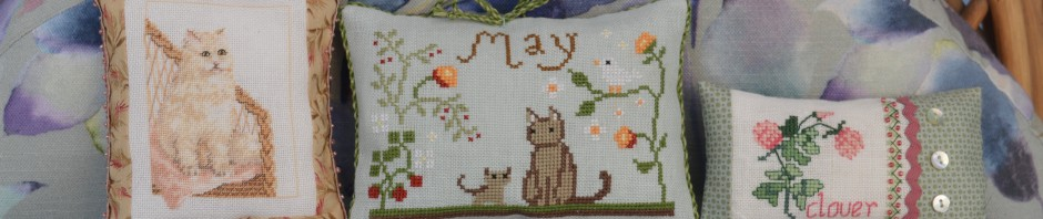 Cross-stitch smalls