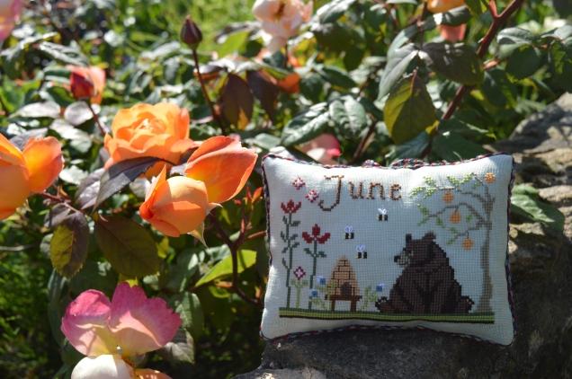 June; Joyful World SAL