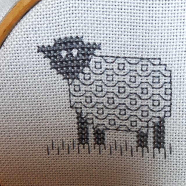 Blackwork Sheep