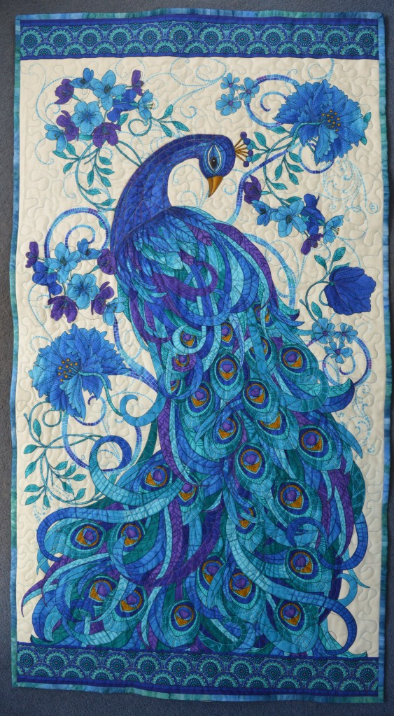 Quilted Peacock