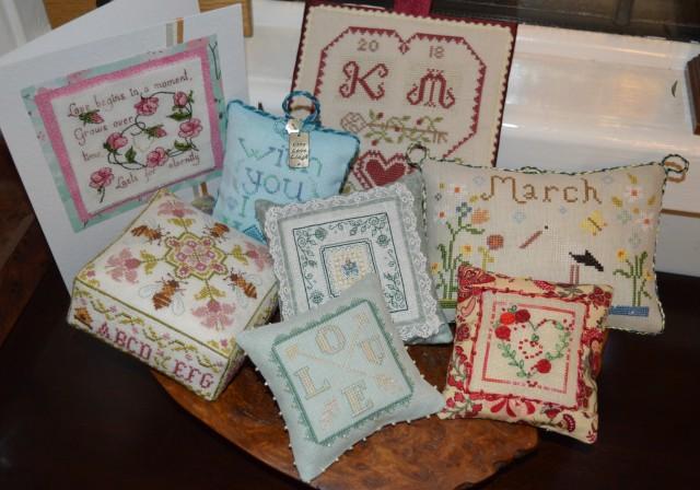 Cross-stitch smalls