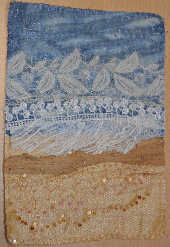 Seascape embroidery