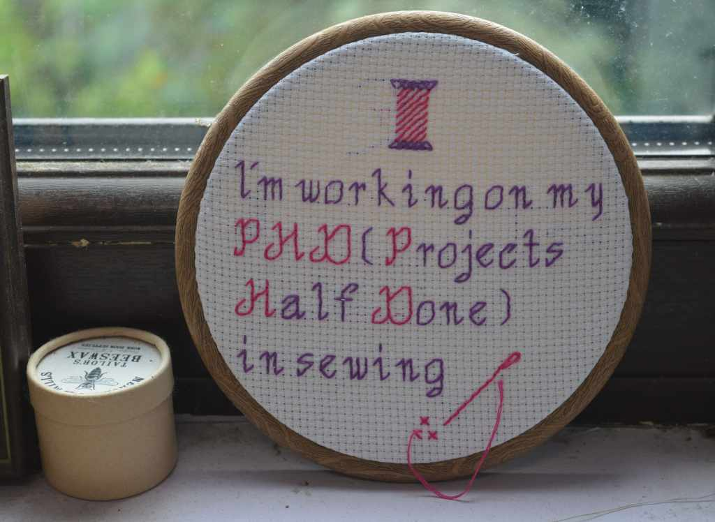 Sewing PHD