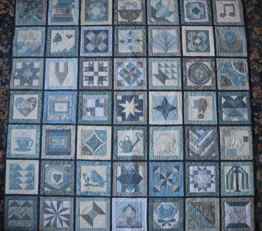 Splendid Sampler 2 quilt