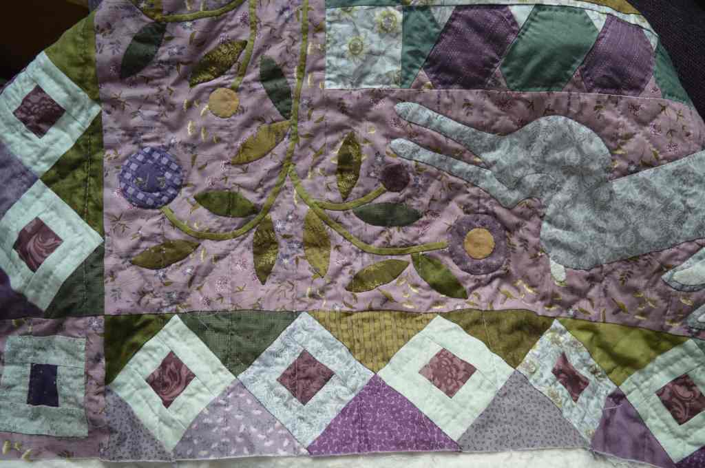 Down the Rabbit Hole quilt